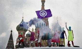 pussy riot - feministki, punk i Putin