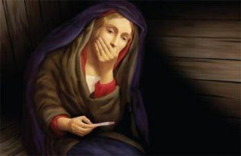 maria panna i test ciążowy - Matka Boska z parafii st. Matthew